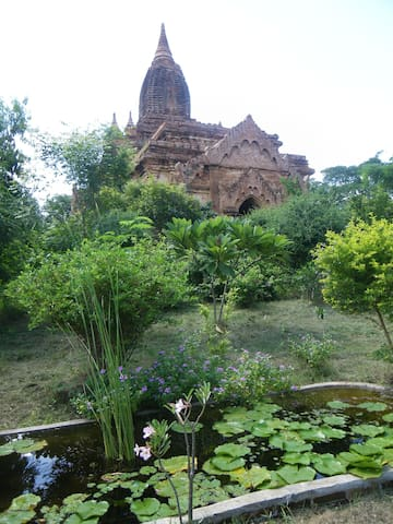 Bagan private house /pool/riverside - Old Bagan - Huis