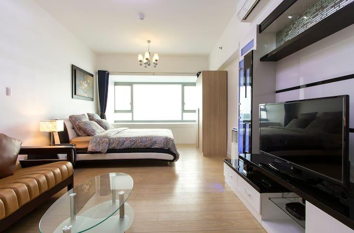 Shangri-la 50M-Wifi Hotel Apartment - Mandaluyong  - Departamento