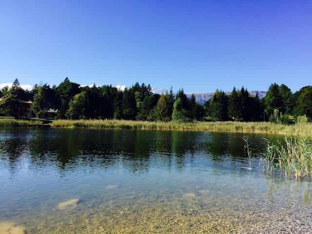 Lake view holiday house, Casa Ghiro - Lagolo