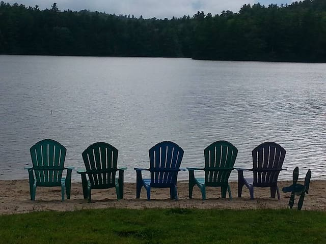 Adam's Lake Cottage Retreat - Bridgton - Cabane