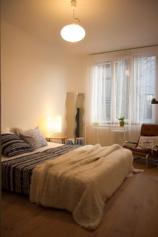 Very central apartment with terrace - Anvers - Pis