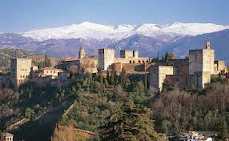 Sierra Nevada-Alhambra-Cahorros-Granada - Монахил - Квартира