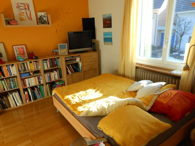 Sunny room (in a house) near city - Zofingen - Penzion (B&B)