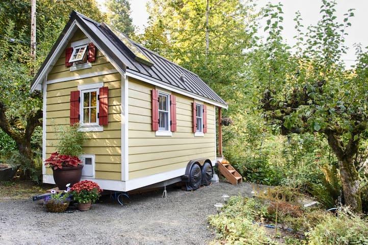Bright & Cozy Tiny House on the Bay - Olympia