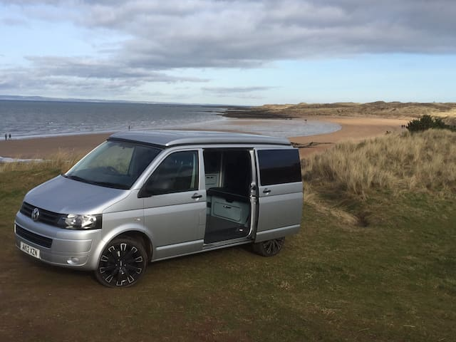 Camper Van, T5 Volkswagen, brand new conversion. - Gullane - Trailer