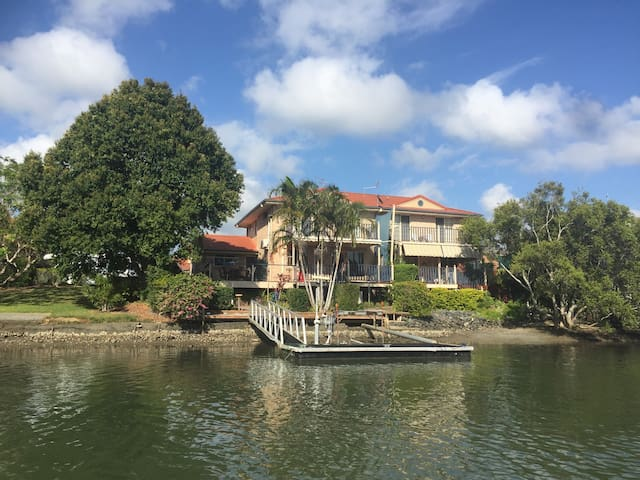The Terrace House : On The River - 河边的房子鱼和螃蟹 - Tweed Heads West - Adosado