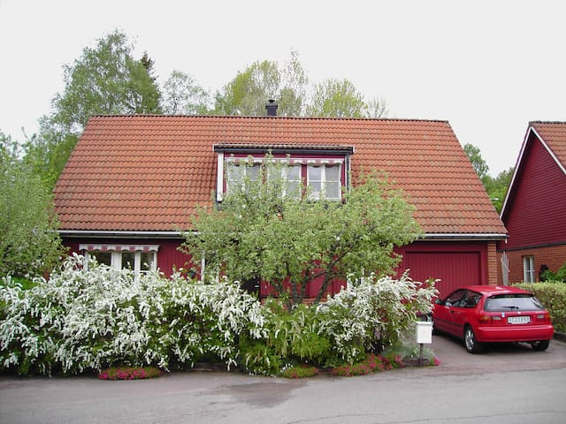 Sunny opportunity for 1-3 people - Karlstad - Rumah