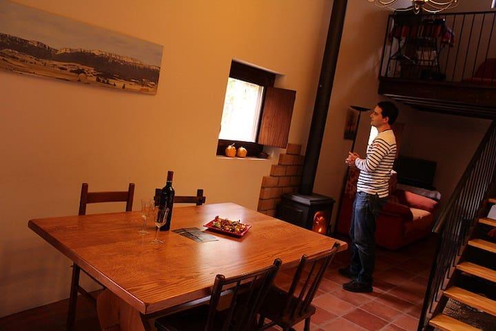 Casa Rural Txandia, acepta mascotas - Ollogoyen - Ev
