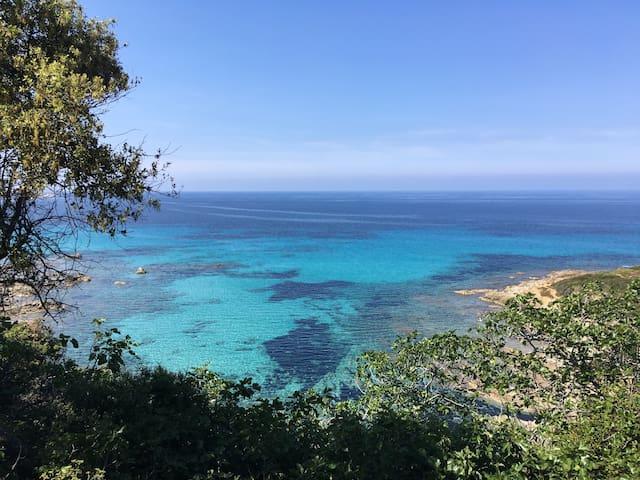 Calme T3 à proximité d'Île-Rousse et ses plages - Monticello - Appartement