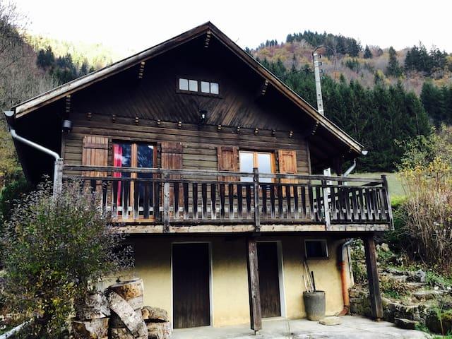 Chalet entre lac et montagne - Thorens-Glières - Casa