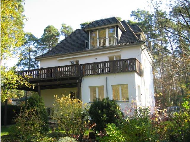 """Luxus-Apartment """"Fontane"""" in Villa - Schönwalde-Glien - 別荘"""