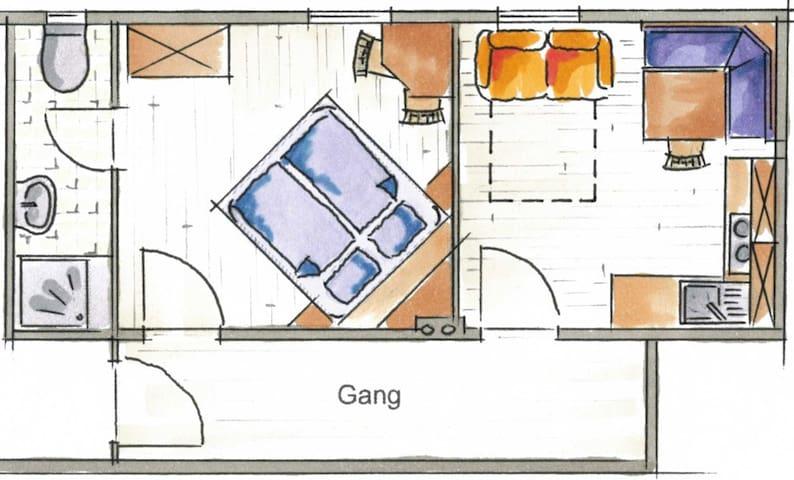 Apartment Schwalbennest im Ferienhaus Sonnenhang - Matrei in Osttirol - Appartement