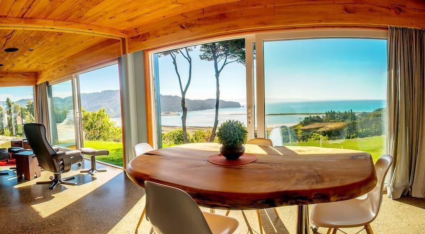 Kiwi Greenie, Eco-house, Golden Bay - Wainui Bay - Huis