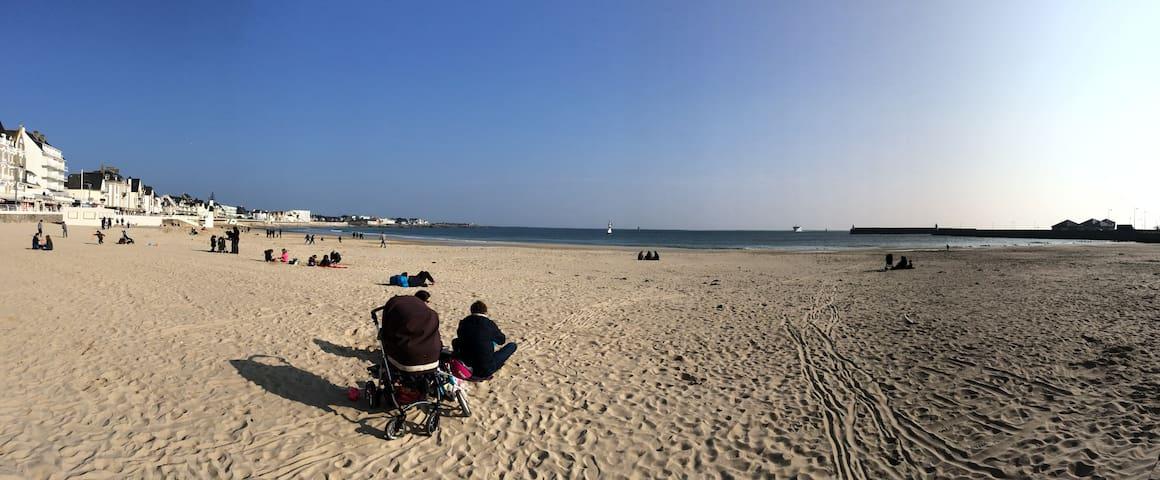 La plage & le centre à pieds! - Quiberon - Lyxvåning