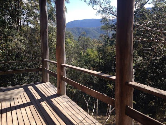 Mountain View Rainforest Cottage - Crystal Creek - Bungalow