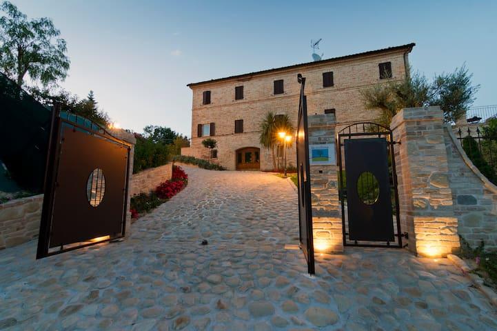 La Collina-Tramontana wellness - Monsampietro Morico - 公寓
