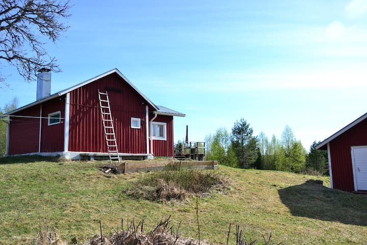 Peaceful cabin and finnish sauna - Nurmes - Kulübe