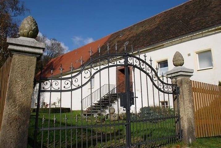 Schloss / Manor Schlottenhof +++ WIFI +++ - Arzberg - Castillo