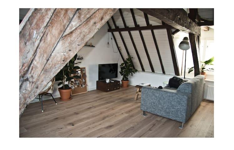 Cozy city cabin-appartment - Middelburg - Apartamento