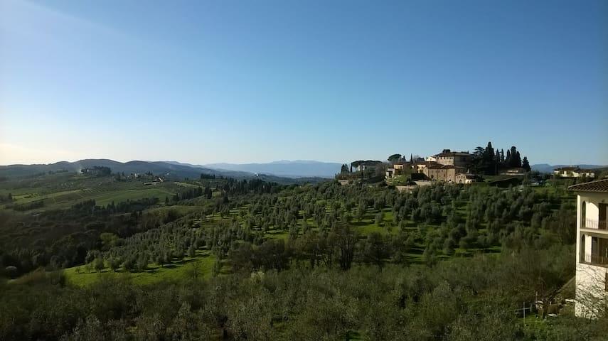 *Panoramic apartment in Florentine Chianti* - Impruneta - Huoneisto