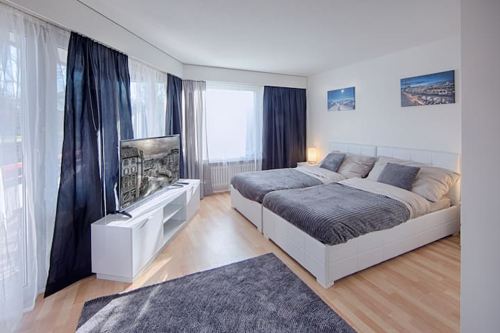 oneroom apartment next to zurich and airport Nr.12 - Glattbrugg - Leilighet