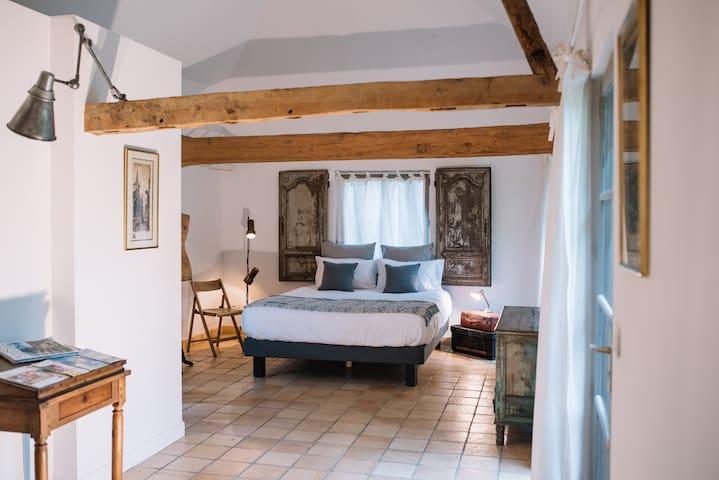 Le pré doré, chambres d'hotes - Bonneville-la-Louvet - Appartement