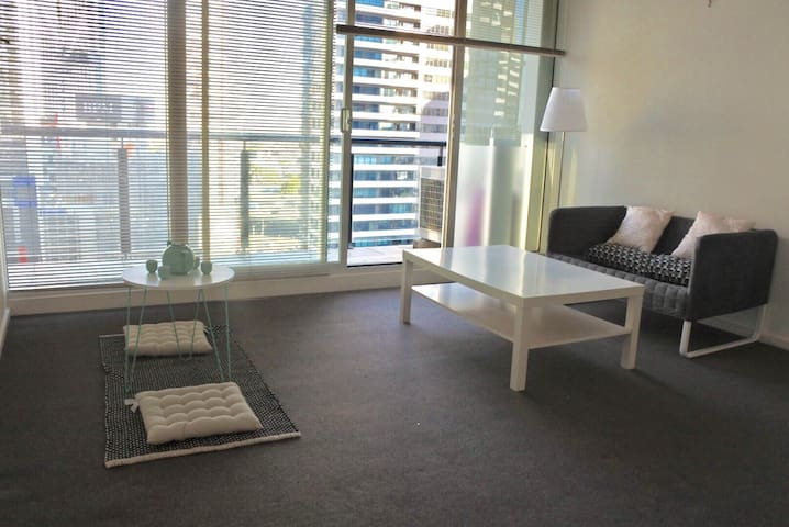 huge room near Crown with free park - Southbank - Appartamento