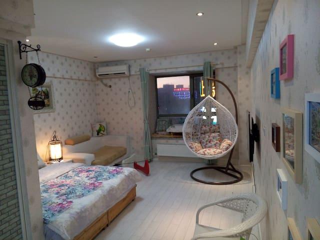 欧美田园风格的舒适公寓 - Jinan - Appartement