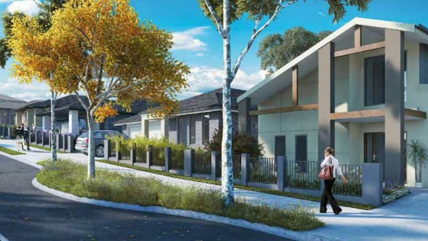 Doubleprivate nice bedroom big new house in Sydney - Campbelltown - Huis