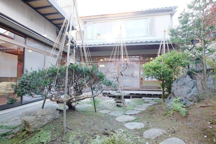 Homestay ryokan/beautiful garden/free internet - Kanazawa