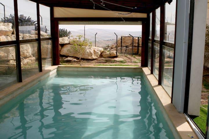Jerusalem-Judean Desert Lookout - Almon - Villa