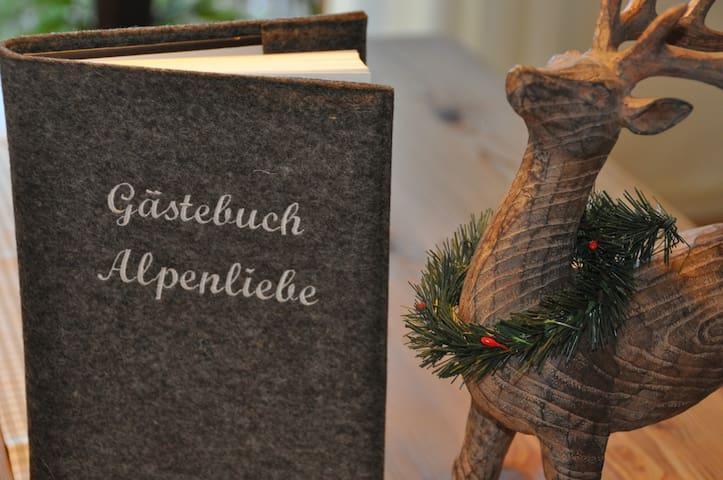 """Ferienwohnung """"Alpenliebe"""" Tutzing - Tutzing - Lägenhet"""
