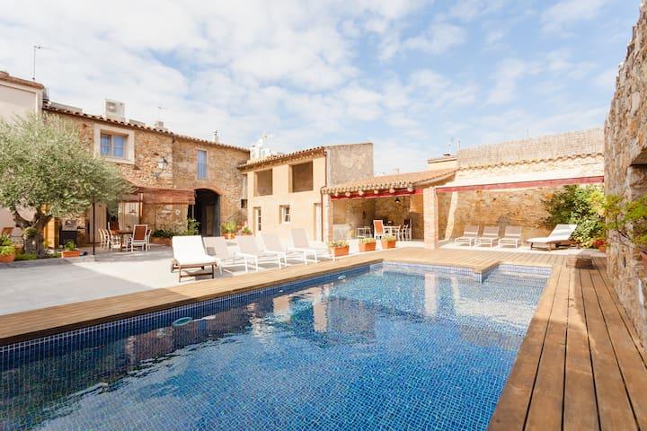 Precioso apartamento Marieta con piscina en Pals - Pals