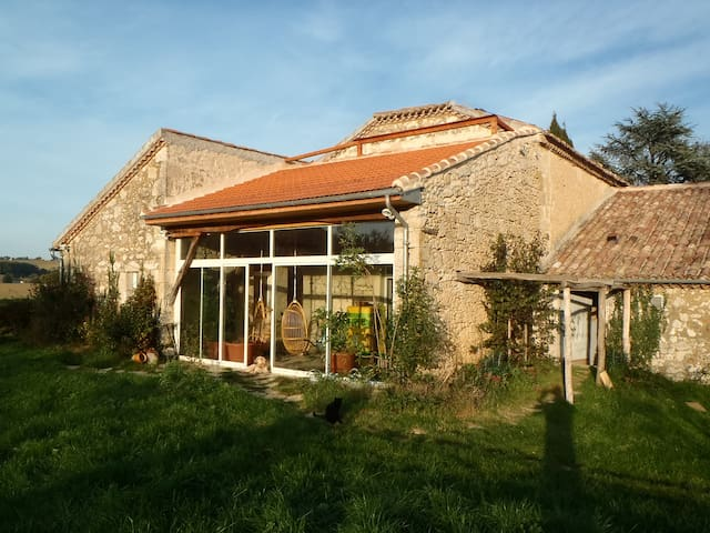 "21 p. B&B & self-catering cottage ""rural Gascony"" - Saint-Mézard - 獨棟"