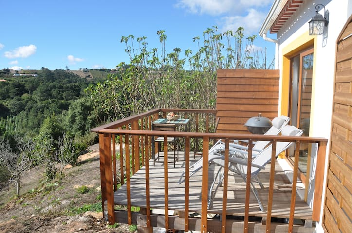 NEW near Obidos renovated stables studio with deck - Óbidos Municipality