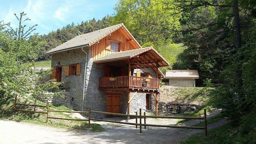 chalet de la rose - Avançon - Dağ Evi