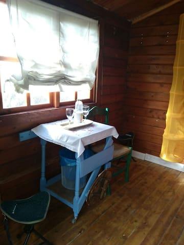 Cabaña de madera ideal para parejas. - Cañada - Kabin