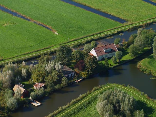 Island house nearby Amsterdam - Kockengen - 小木屋