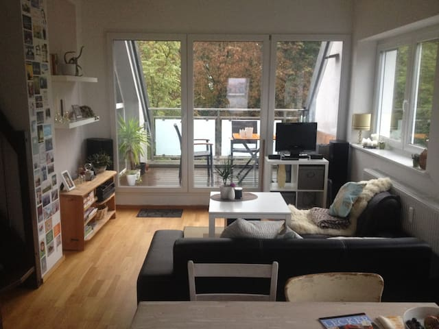 Bright apartment 800m from main trainstation - Augsbourg - Appartement en résidence