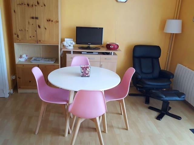 Agréable studio proche centre ville - Rochefort - Apartamento