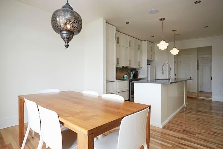 Condo luxueux rénové à Outremont - Montréal - Apartament