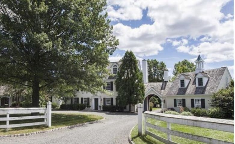 Spectacular Country Estate - Bedminster Township - Hus