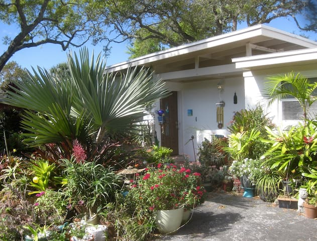 Tropical Oasis w/pool near beach - Cocoa Beach - Casa