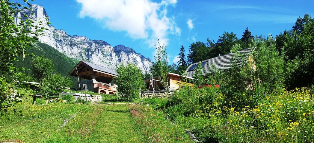 Eco Chalet 6/8 places en pleine nature en station - Saint-Bernard - Alpstuga