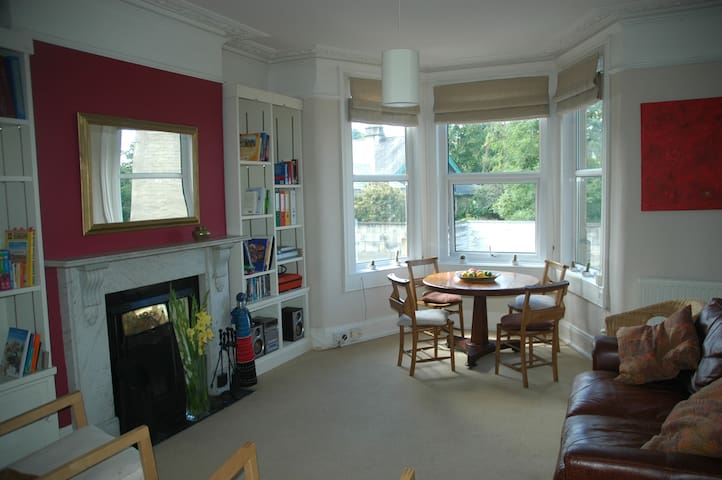 Private apartment with garden and views over Bath - Bath - Daire