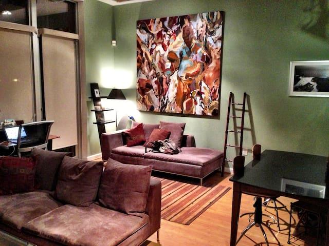 Luxury Loft in DC Hotspot - Washington - Loft
