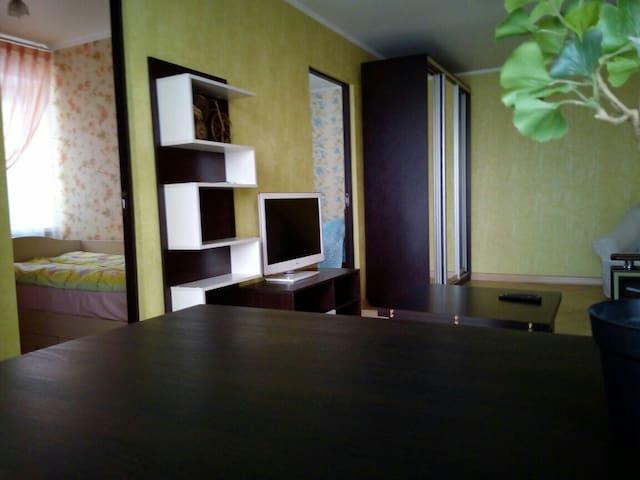 4-х ком. уютная квартира с отличным ремонтом - Pyatigorsk - 公寓