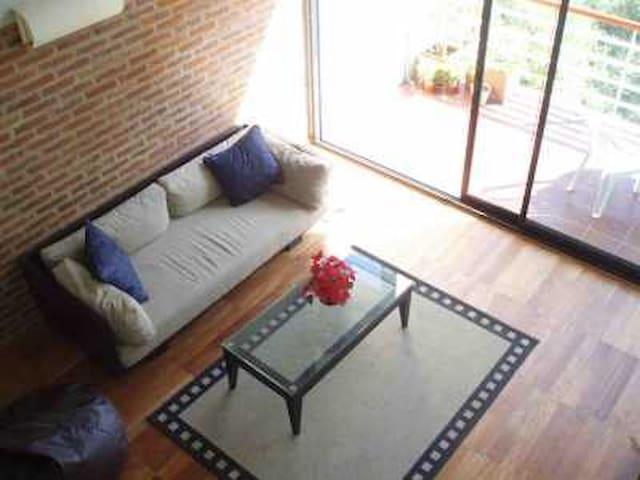 LOG TERM STAY. UNIQUE LOFT IN B.A - Libertad - Lägenhet
