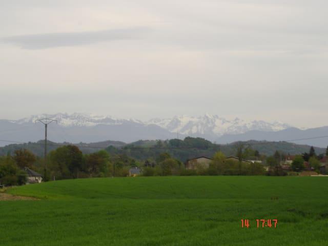 APARTEMENT BETWEEN SEE-MOUNTAINS - Monein - Huoneisto