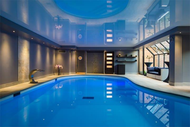 Flat with wellnesss center access - Gondecourt - Appartement